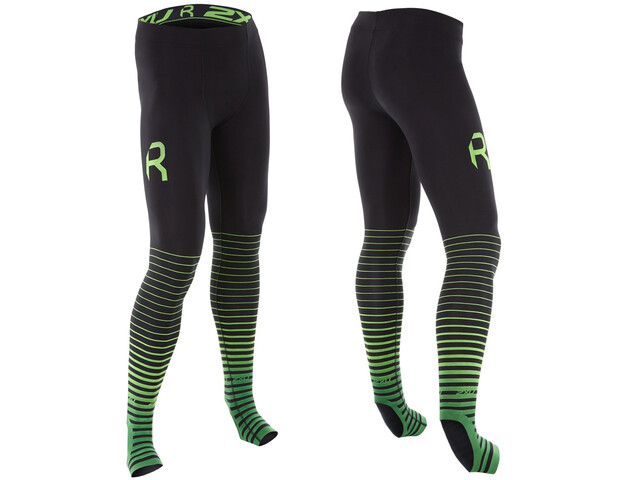 2XU Power Recharge Recovery Collant Homme, black/green